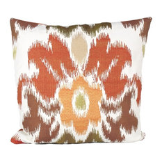 Flamin' Ikat Too Cover Only, 20x20