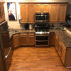See How Refaced Cabinets Brighten This Dated Kitchen