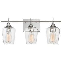 Cute Industrial Bathroom Vanity Lighting by Littman Bros Lighting