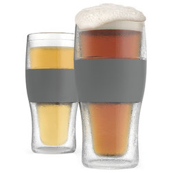 Contemporary Beer Glasses by True Brands