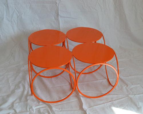 "Table basse ""4 RINGS"" - Table Basse de Jardin"