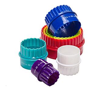 Prepworks from Progressive Colorful 7 Piece Biscuit Cutter Set