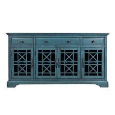 Chester Sideboard, Antique Blue, Medium