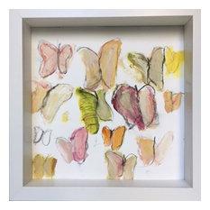 """""""Metamorphosis 3"""" Painting by Lynne Pell"""
