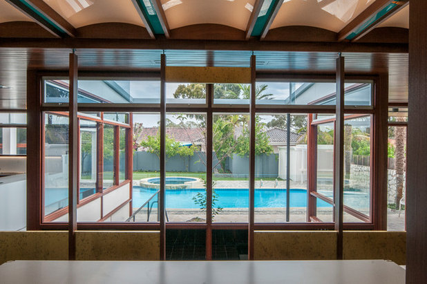 Houzz Tour: Paganin Home, A Modernist Icon Reborn From the Ashes