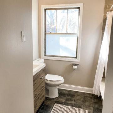 Evanston Small Bath Remodel
