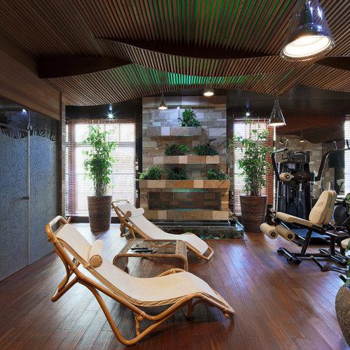 Asiatischer fitnessraum ideen f r ihr home gym for Boden fitnessraum