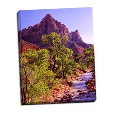 Fine Art Photograph, Zion National Park I, Hand-Stretched Canvas