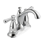 Delta Linden 2 Handle Centerset Bathroom Faucet, Chrome, 2593-MPU-DST