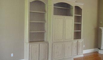 Cabinet Antique Crackle Finish