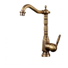 Bathselect Leo Antique Faucet All Copper Bathroom Sink Faucets