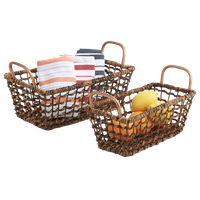 2-Piece Storage Basket Set