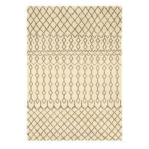 Amira Rectangular Traditional Rug, Beige, 160x230 cm