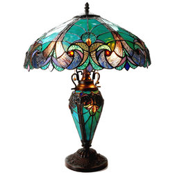 Victorian Table Lamps by Zeckos