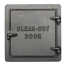 "US Stove Chimney Cleanout Door, 8""x8"", Cast Iron"