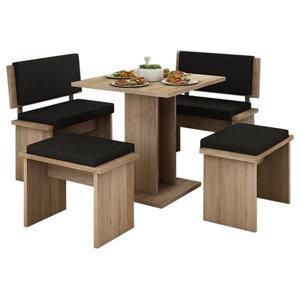 Awe Inspiring Chelsea Nook Natural Traditional Dining Sets By Linon Spiritservingveterans Wood Chair Design Ideas Spiritservingveteransorg