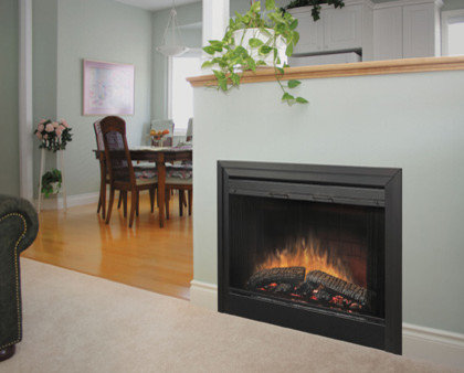 Dimplex - Dimplex 39-Inch Purifire 2-Sided Built-in Electric Fireplace - - Electric Fireplace Inserts