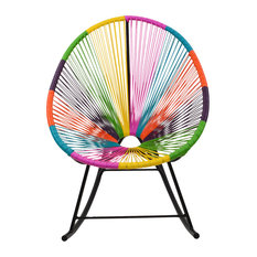 Design Tree Home   Acapulco Rocking Chair, Multi Color   Rocking Chairs