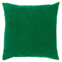 Velvet Poms Pillow Cover 18x18x0.25