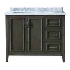 Ari Kitchen Bath Jude French Bathroom Vanity Gray 42