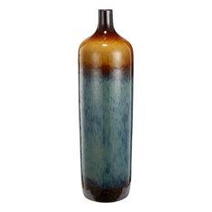 "Ceramic Vase Multi-Colored Vase 6""x21"""