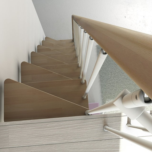 Escalera para espacio reducidos