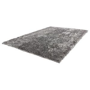 Diamond Shag Rug, Grey White, 200x290 cm