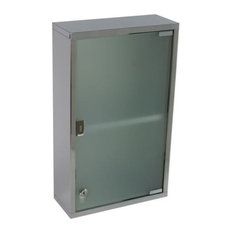 Nameeks   Nameeks JO07 Gedy Medicine Cabinet Bathroom Storage, Polished  Chrome   Medicine Cabinets