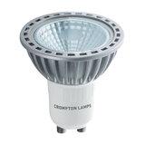 Crompton LED GU10 COB 4W Non-Dimmable Spotlight, 30° Beam, Warm White