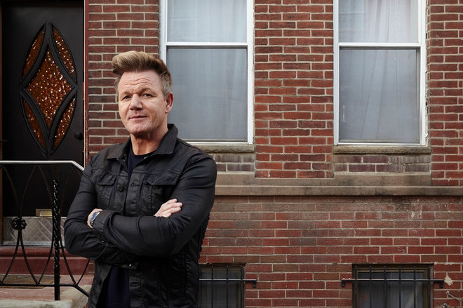 Gordon Ramsay Chooses East Coast Rustic For A Home Make