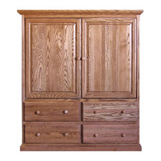 Traditional TV Armoire With Doors