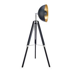 Fascino Tripod Floor Lamp, Black