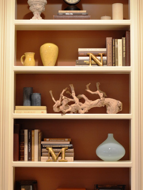How To Decorate A Bookcase bookshelf decoration | houzz