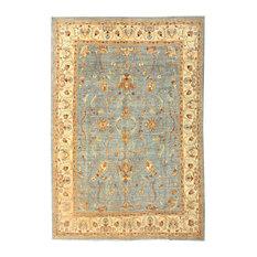 "ALRUG Handmade Afghan Ziegler Rug, Gray, 7'11"" x 11'6"""