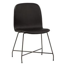 SURREY Dining Chair Black PU Leather