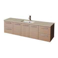 - ADP Essence MKII 1800 Wall Hung Single Vanity from Reece - Bathroom Vanities