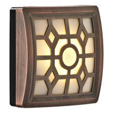 fulcrum marketing group led motion sensor light bronze wall sconces - Battery Operated Sconces