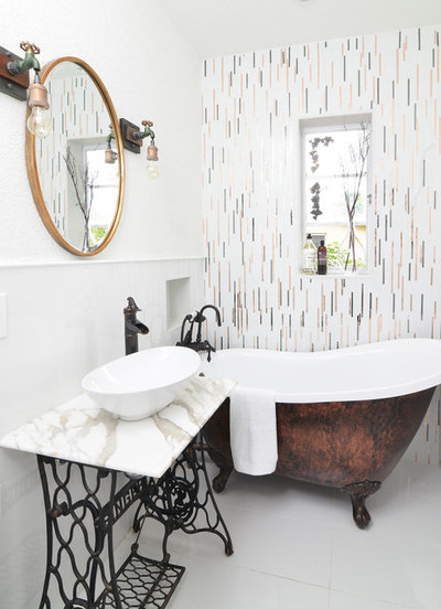 Simple Eclectic by Nicole White Designs Interiors LLC