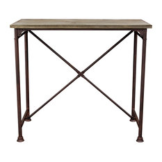 Dixon Vintage Rectangular Bar Table