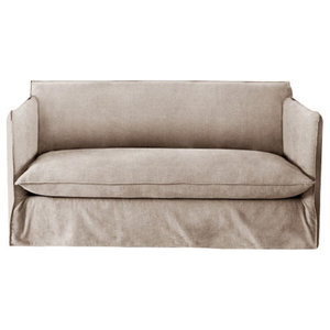 Sophie Sofa Bed, Yorkstone, 1.5 Seater, 113x186 cm