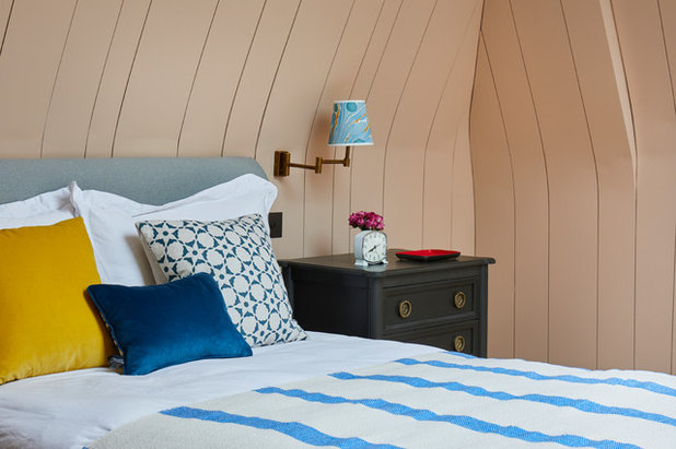 Eclectic Bedroom by Sarah Brown Interiors