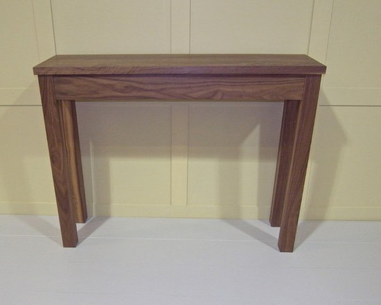 Walnut Console Table walnut console table