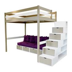 Lit mezzanine moderne - Construire un lit mezzanine ...