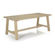 Alinéa - Carmen chêne Table de repas en chêne 200cm - Table à manger