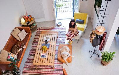 リラックスムード満点!愛犬達と暮らすバルセロナの部屋