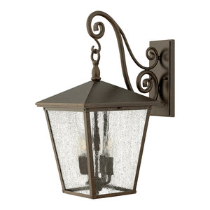 Trellis Traditional Outdoor Wall Light, Large