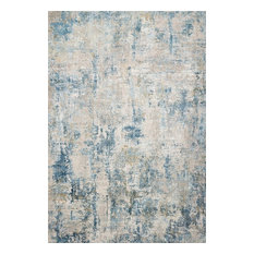 """Sienne Rug, Gray and Blue, 5'3""""x7'8"""""""