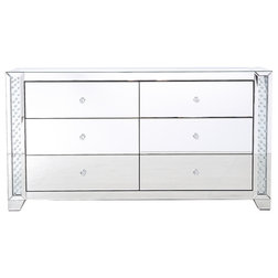 Contemporary Dressers by Elegant Furniture & Lighting
