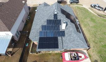 Solar roof mount in Grand Prairie