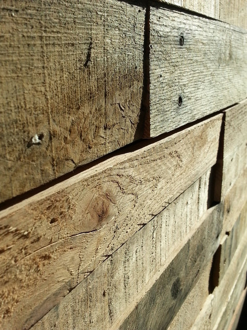 recycled pallet and reclaimed wood paneling wall panels